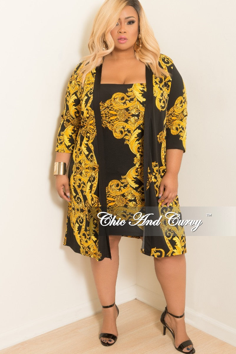 New Plus Size 2 Piece Bodycon Tube Dressskirt With Matching Coat In
