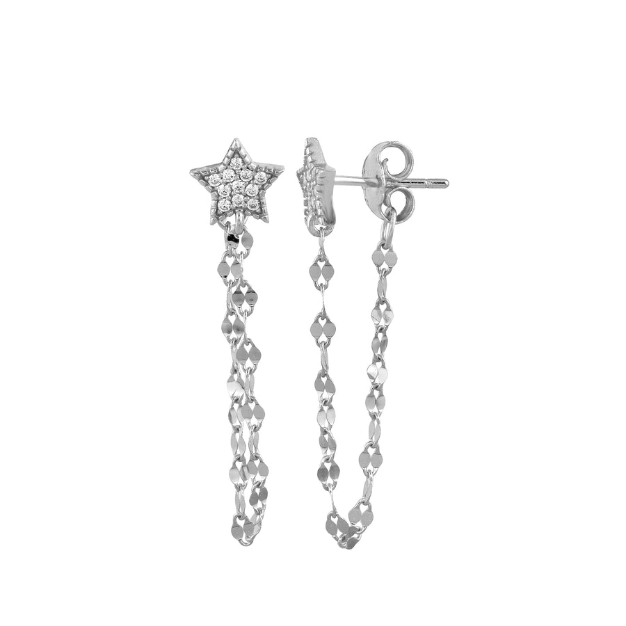 Star Chainy Earring