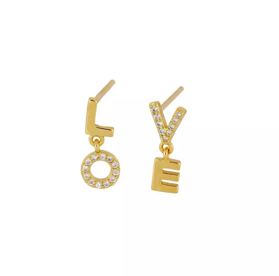 L.O.V.E Earrings