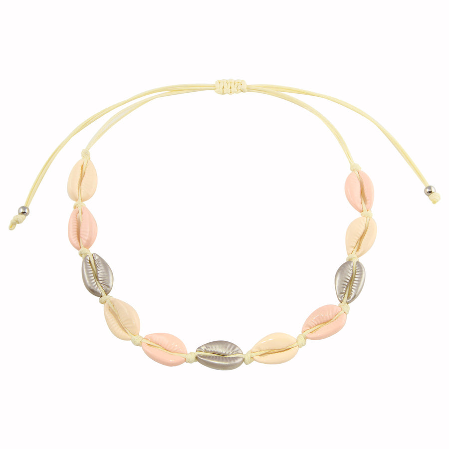 Rose Nude Shell Choker