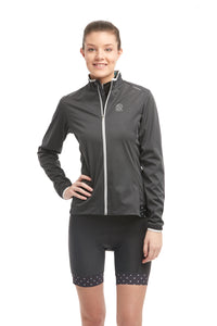 Waterproof Cycling SoftShell Jacket - Color Anthracite