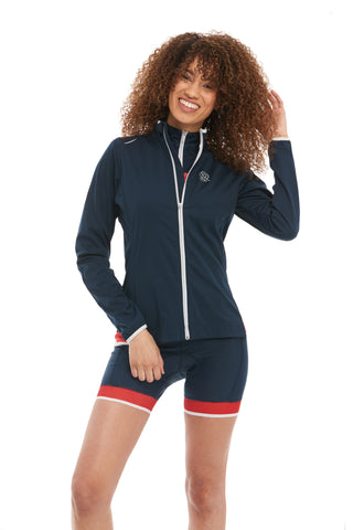Waterproof Cycling Softshell Navy