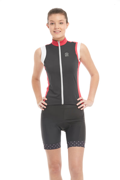 tank, cycling, top, grey, anthracite, coral, pink, cami, jersey, cyclewear