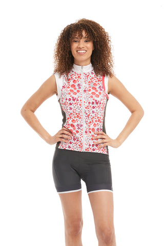 Cycling Tank Pink Floral
