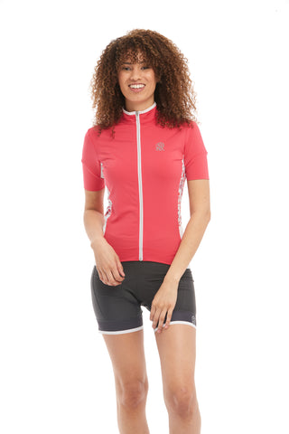 Short Sleeve Cycling jersey Coral