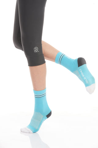 Cycling Socks Blue