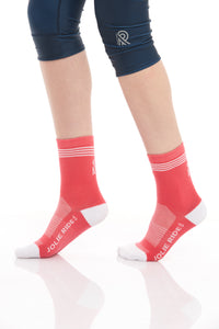 Cycling Socks Pink