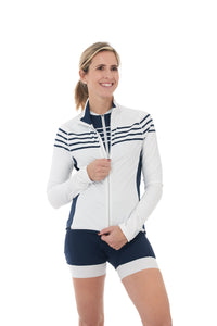 Fleece, Sweater, 50 UFP, White, Stripes, JolieRide