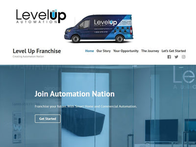 'Level Up Your Home' Announces Franchise Opportunity For Home And Business Automation