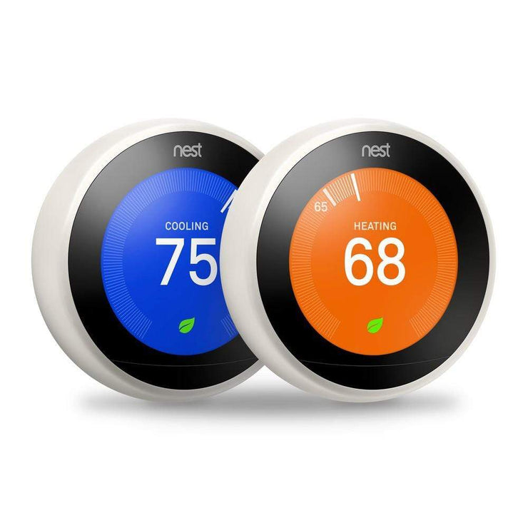 Level Up Your Home Nest Thermostat 3rd Generation 2 pack bundle