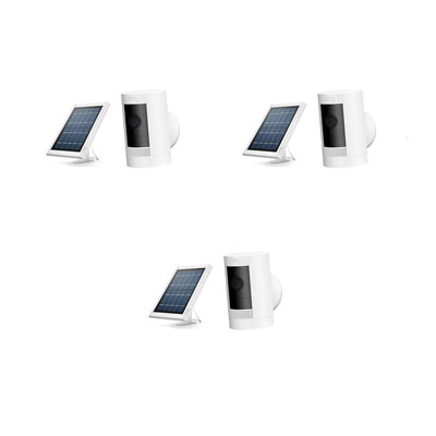 RING Security 3-Pack Stick Up Solar Cam