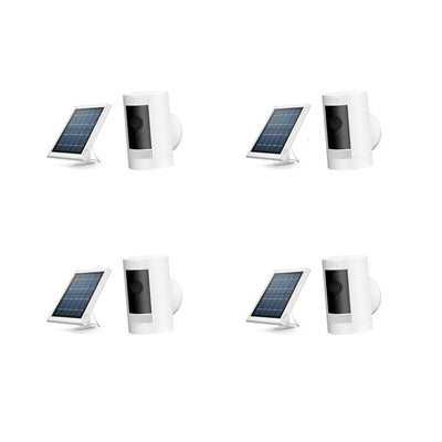 RING Security 4-Pack Stick Up Solar Cam