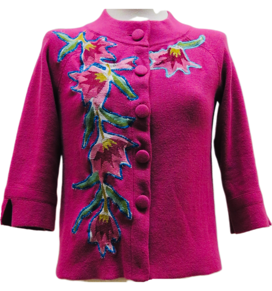 Magenta Floral / Size Small