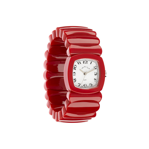 Red with Multiple Dials