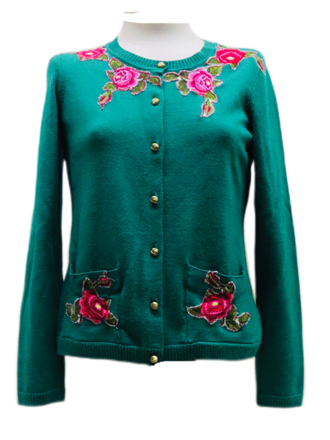 Teal Rose / Size Small
