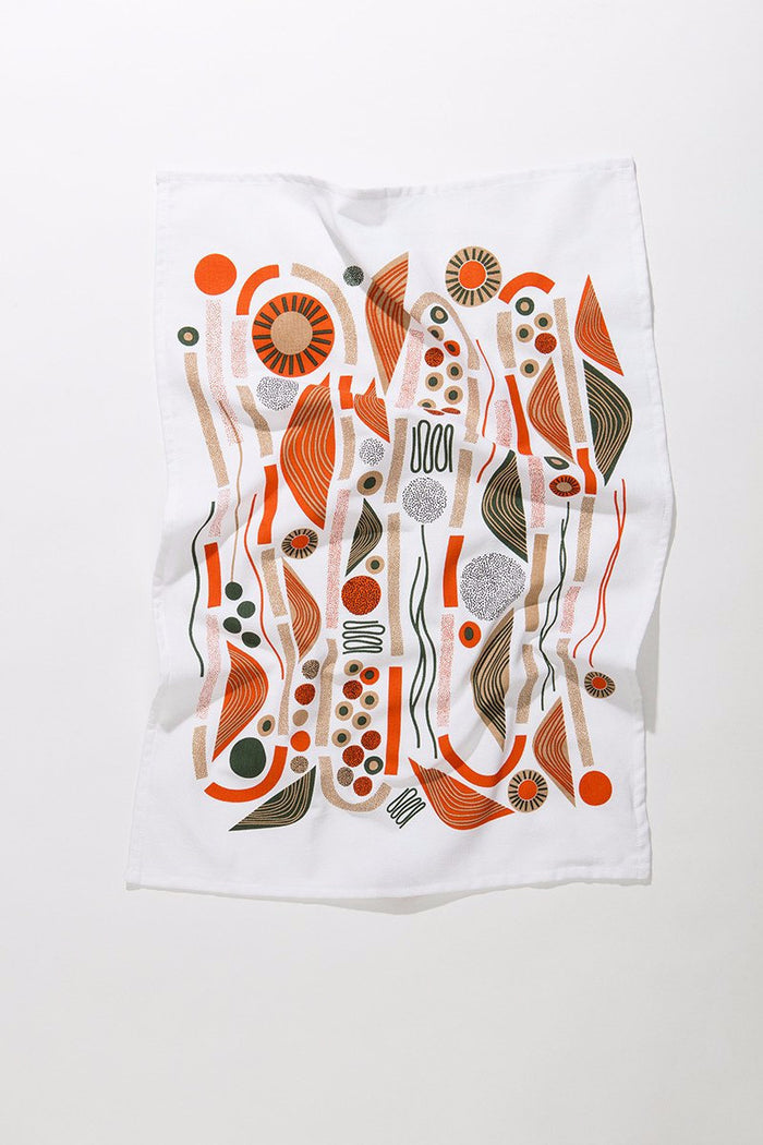 Mingle Tea Towel • Abstract Allsorts Series