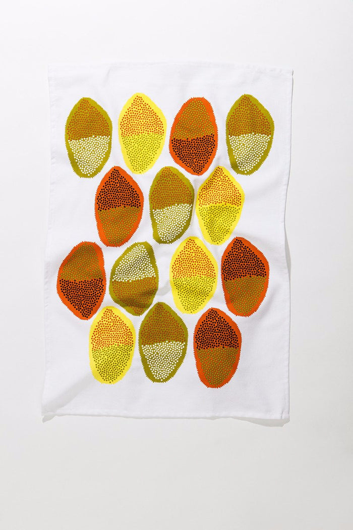 Pods Tea Towel • Abstract Allsorts Series