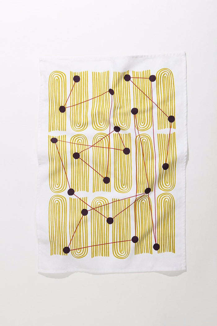 Dot Field Tea Towel
