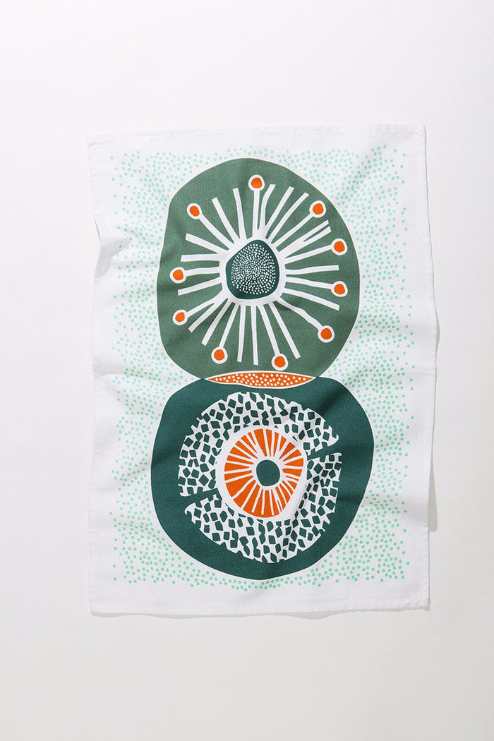 Crop Circles Tea Towel