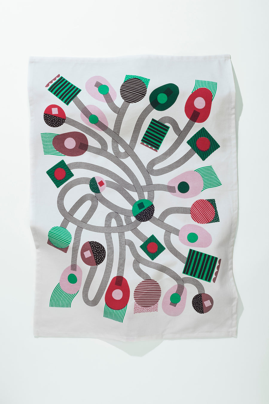 Firework Tea Towel