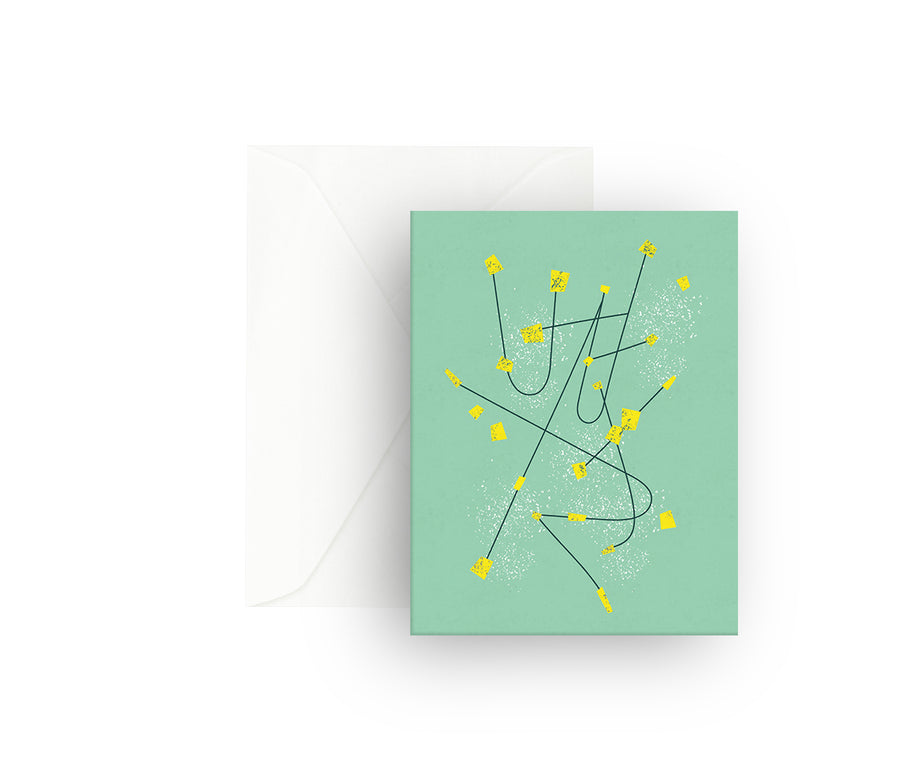 Constellation Greeting Card