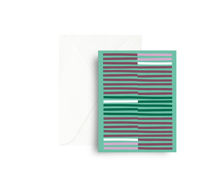 Matchsticks Greeting Card