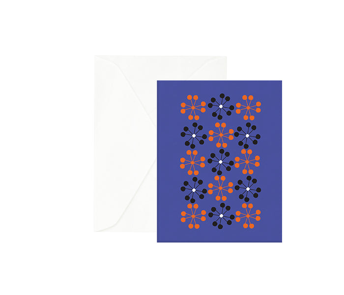 Blue Raspberry Greeting Card