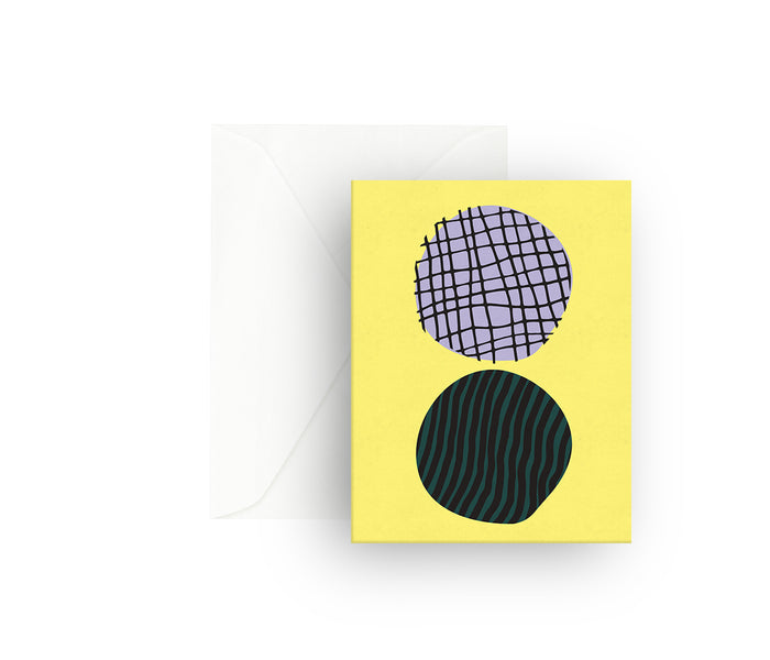 Yellow Sun Greeting Card