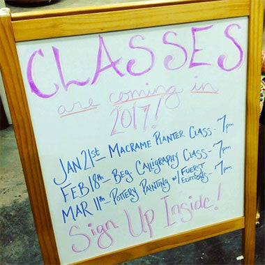 Check out our classes!