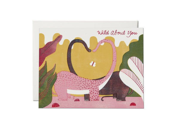 Red Cap Cards - Dino Love