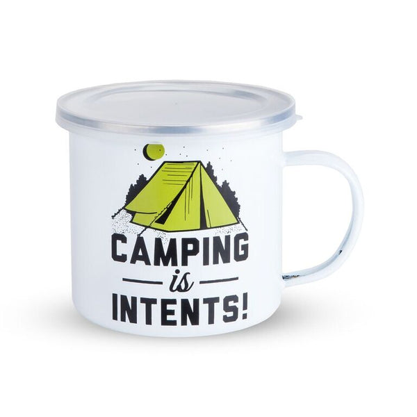 Foster & Rye - Camping is Intents Enamel Mug