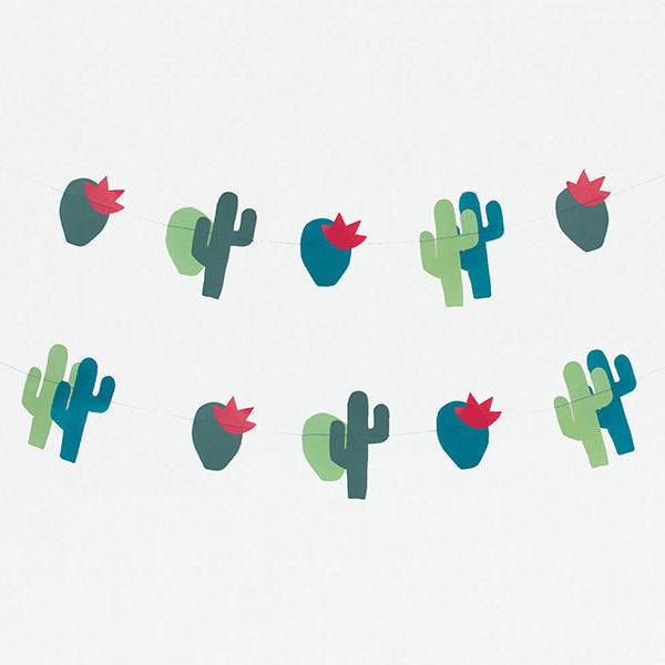My Little Day - Paper Garland - Cactus