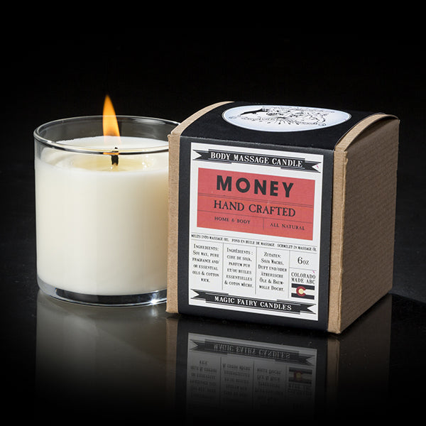 Magic Fairy Candles - Money 6oz Candles