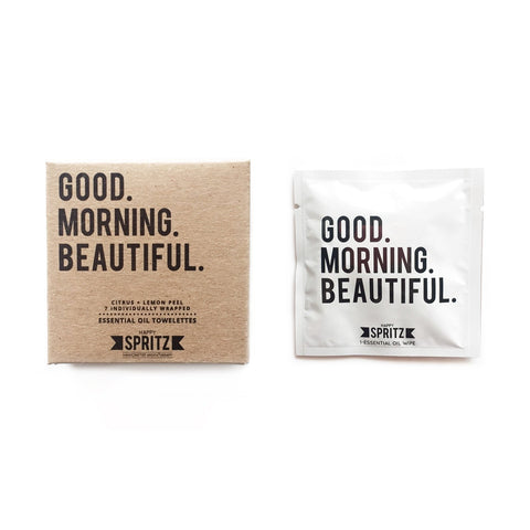 Happy Spritz - Good Morning Beautiful Towelette 7 Day Box