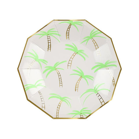 Palm Trees Plates (small)