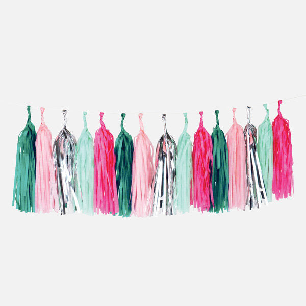 My Little Day - Tassel Garland Kit - Sea Punk