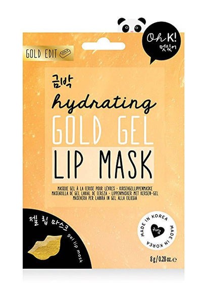 Oh K! Hydrating Gold Hydrogel Lip Mask