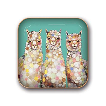 3 Alpacas Metal Catchall
