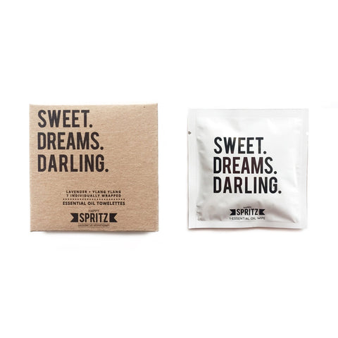 Happy Spritz - Sweet Dreams Darling Towelettes 7 Day Box