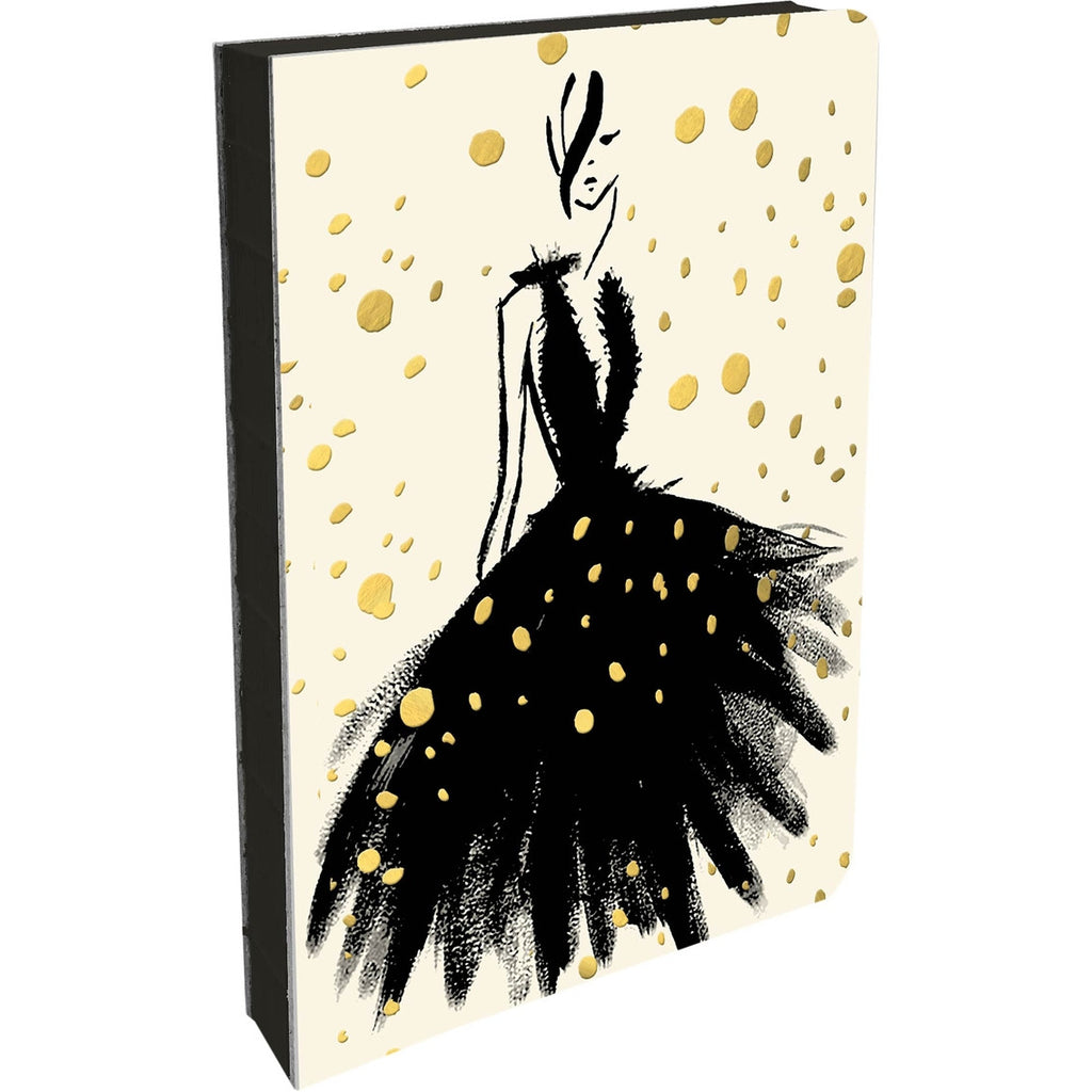 gold foil fashion notebook