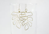 Grey Theory Mill - Monstera Leaf Dangle Earrings
