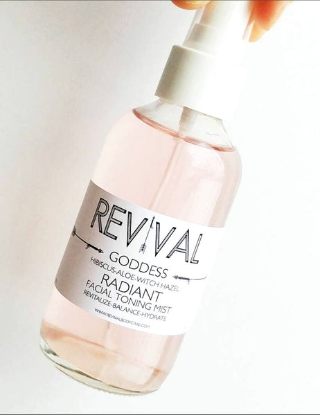 Revival Body Care - Goddess Radiant Facial Hydrating Mist