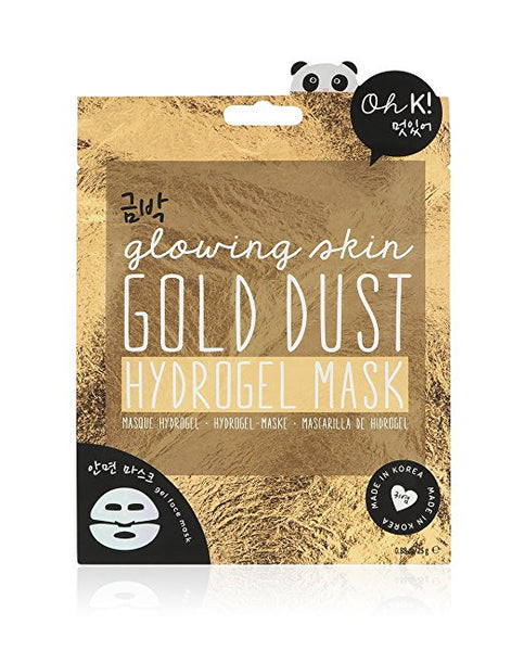 K! Korean Glowing Skin Gold Dust Hydrogel Face Mask