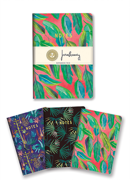Notebook Trio Botanical Collection