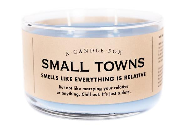 A Candle For Small Towns
