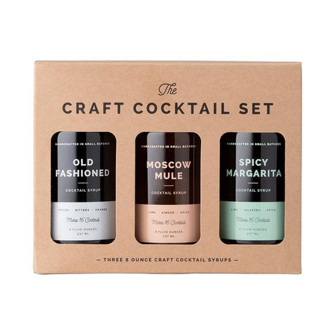 COCKTAIL SYRUP 3-PACK SET