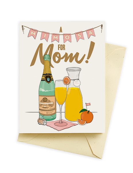 Mimosa Mother's Day Card