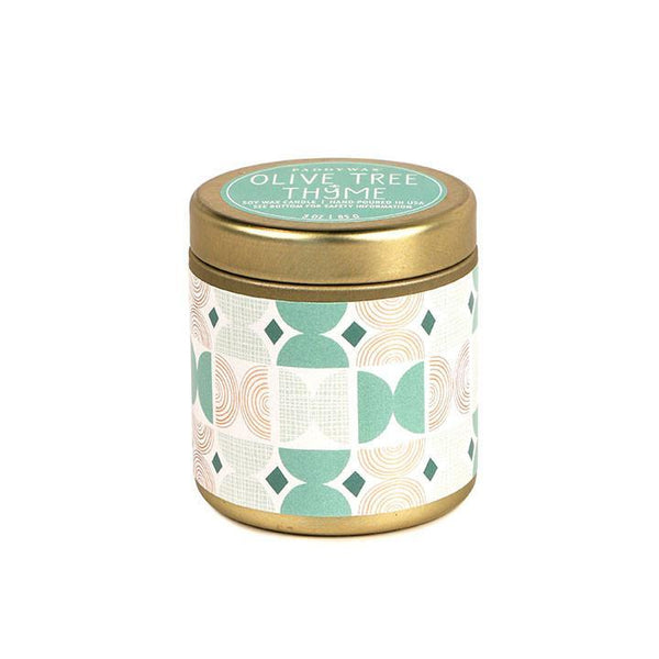 PADDYWAX Olive Tree + Thyme Kaleidoscope Candle