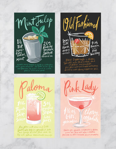 Cocktail Post Cards