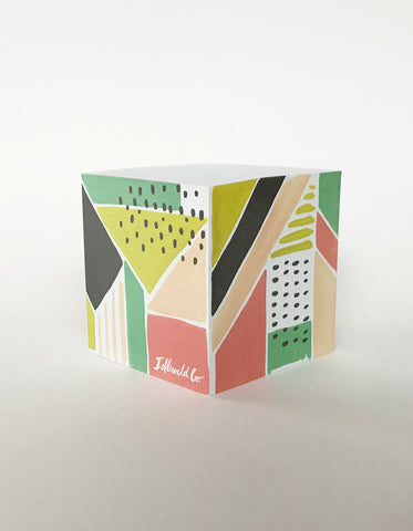 Tropicana Sticky Note Cube